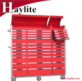 Surtidor resistente de Qingdao del rectángulo de la cabina de herramienta del cajón del rodillo del uso del garage de la carretilla