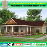 Armazém Prefab moderno África do Sul aprovada da construção de aço da casa