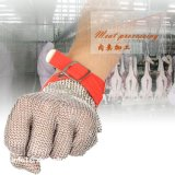 Gants résistants de cuisine coupés par couteau protecteur de maille d'acier inoxydable de haute performance/gants fonctionnants