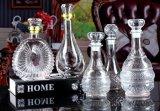 Le bottiglie di vino di vetro di fabbricazione della bottiglia rimuovono la bottiglia