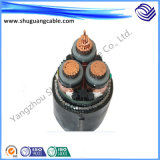 Mv XLPE Insulated PVC Sheathed Thin Steel Wire Armored Flame Retardant Electric Power Cable
