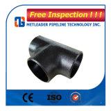 等しいティーの炭素鋼ASTM A234 Gr. Wpb