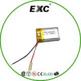 Batterie Li-ion rechargeable de la batterie 802045 3.7V 400mAh de Li-Polymère