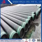 API 5 CT aceitado Tubo de acero cubierta de Petróleo y Gas de tubo de acero sin costura //tubo de acero aceitado