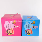 Impression de qualité du papier de stockage de boîte en carton pliable