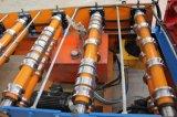 Roulis en acier de construction en métal de couleur formant la machine