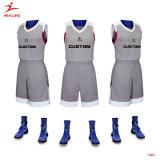 Healongは人のためのスポーツ・ウェアの印刷のバスケットボールジャージーを予約した