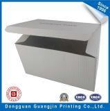 Gran caja de embalaje de cartón plastificado mate