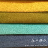 Tissu mou de la meilleure qualité de velours de capitonnage collé pour les usages à la maison