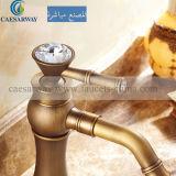 Het antieke Bassin Mixer&Faucet van het Brons voor Badkamers