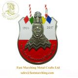カスタム工場価格のギフトのフィニッシャーのエナメルのオンラインで宗教金属メダル
