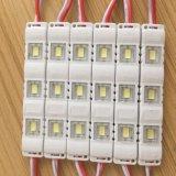 Alto brillo 5630 tiras de la luz del módulo de la inyección LED para el rectángulo ligero