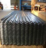 Strato ondulato rivestito d'acciaio ondulato galvanizzato del tetto di colore dello strato/zinco dei tetti