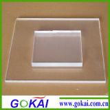 Super clair et transparent d'épaisseur 5 mm de 4 pi x 8 pi feuille acrylique