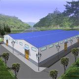 中国の低価格の環境に優しい鋼鉄研修会の建物