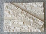 Nuove e mattonelle di marmo beige poco costose della parete di pietra di arte della Cina