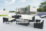 Rattan del PE & mobilia dell'alluminio, sofà esterno del rattan (BP-824)