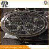 Espiral de grafito de metal de la junta de la herida con una alta resistencia a la compresión y larga vida de servicio es significativo de absorción de sonido
