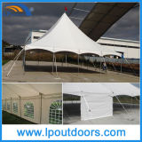 40X40' Outdoor Steel Frame High Peak Wedding Marqueeポーランド人Tent