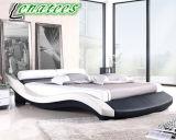 Amerikanischer ArtA022 faux-Leder-Bett-Rahmen