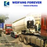V-Shapeの半中国Factroyの価格の大きさのセメントタンクトレーラー