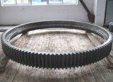 ring Uit gegoten staal van het Toestel van de Omtrek Diamter van 8m de Roterende Drogere