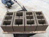 Macchinario di costruzione semi automatico della macchina per fabbricare i mattoni Qt4-26