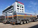 頑丈な半トラックユーティリティ3車軸オイルタンクのトレーラー