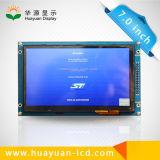 7 visualización de Lvds 1024X600 TFT LCD del panel del LCD de la pulgada