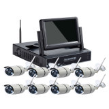 8cps 960p無線防水IPのカメラDIYのカメラキットが付いている8CH WiFi CCTV NVRキット