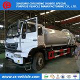 HOWO 10000liters 4X2 10m3 Vakuumabwasser-Absaugung-Tanker-LKWas für Verkauf