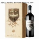De uitstekende kwaliteit paste Houten Doos met Gegraveerd Embleem voor Doos van de Gift van de Doos van de Wijn de Houten aan