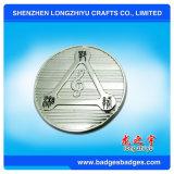 L'argento ha placcato il fornitore della Cina del modulo della moneta del metallo impresso marchio