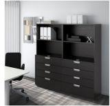 Gaveta de design moderno, armário com 8 gavetas