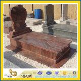 Monumento e pietra tombale del granito per il servizio americano o europeo