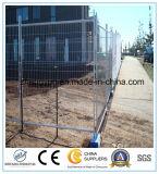 Cerca temporal de la alta calidad/cerca galvanizada del Temp del metal