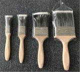 Alta qualità pura della setola 4pk della Cina della maniglia di legno dei pennelli