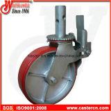 8 Gietmachine van de Wartel van de Steiger van de duim de Rode Pu met Dubbele Rem