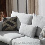 Un sofà del 321 tessuto all'interno con la piuma per la mobilia del salone