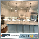 Marmeren Countertop/Benthtop van de Keuken van Nice Witte voor Villa/WoonFlat/Huis