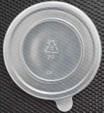 Contenitore di alimento di plastica a gettare all'ingrosso della ciotola di 12oz 360ml pp con il coperchio ed il marchio
