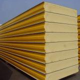 El panel de emparedado del poliuretano de la cámara fría para la pared o la azotea