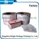El papel de aluminio de papel para embalaje de toallitas de limpieza de lentes