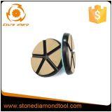 80 mm para piso de hormigón pulido de Transición disco abrasivo de cerámica