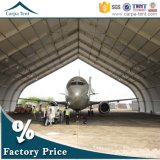 Hochleistungs- TFS Design All-Wetter Structure Curve Roof Aircraft Hangar mit Flexible Fabric Hangar Gate
