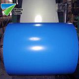 С полимерным покрытием PPGL оцинкованного листа в обмотке рулона Prepainted стальную пластину