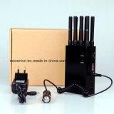 ユニバーサル8バンド携帯用携帯電話のシグナルの妨害機; 2g/3G/4G細胞Phones+GPS+Wi-Fi+Lojackの妨害機かブロッカー; 携帯電話のシグナルのアイソレーター