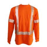HRC2 7oz Katoenen Vlam - vertrager die de Lange T-shirt van de Koker breien