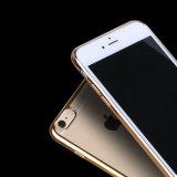 случай сотового телефона плиты золота 4colors мягкий TPU передвижной