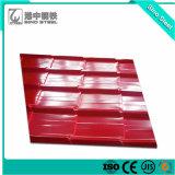 (PPGL) Rivestimento di colore Az80/strato d'acciaio ondulato ricoprente preverniciato tetto di Aluzinc/del galvalume